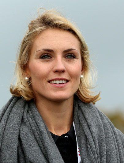 Katharina Boehm (former fiancé of Sergio Garcia).