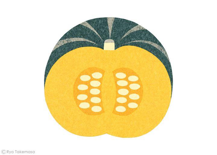 武政 諒 Ryo Takemasa | News & Blog : 雑誌『オレンジページ』の野菜特集でイラストレーションを担当しました。…