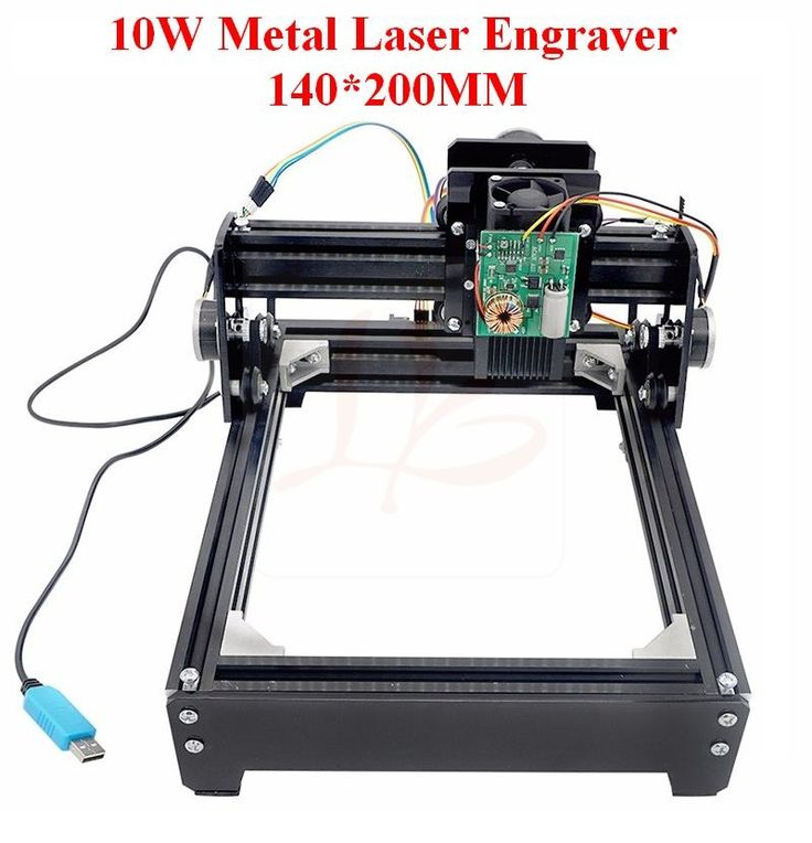 440.00$  Buy here - http://alii8a.worldwells.pw/go.php?t=32720641115 - New 10W Large Area Mini Metal Laser Engraver Laser Cutting Printer Marking Machine Working Size 14 * 20cm, no tax to Russia 440.00$