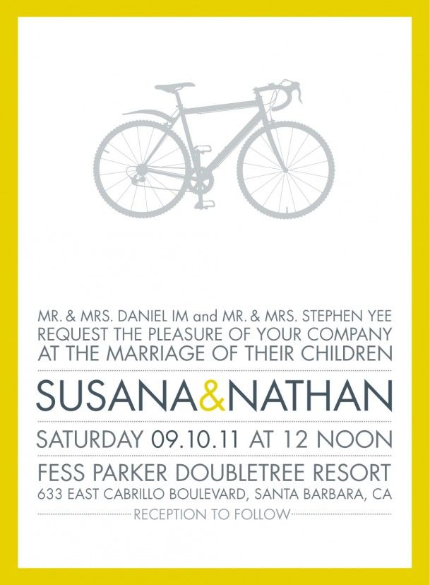 Modern Wedding Invitation Wording