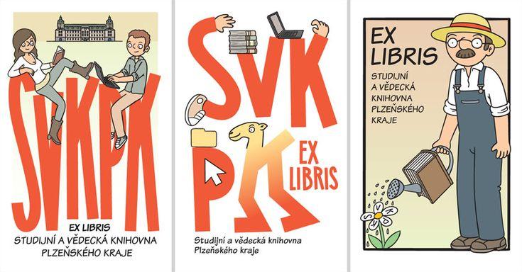 Návrhy na ex libris SVKPK