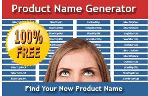 Product Name Generator