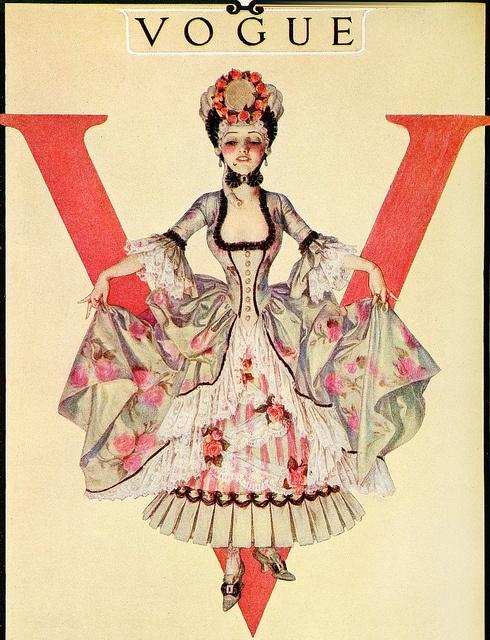 Vogue trademark color 1914