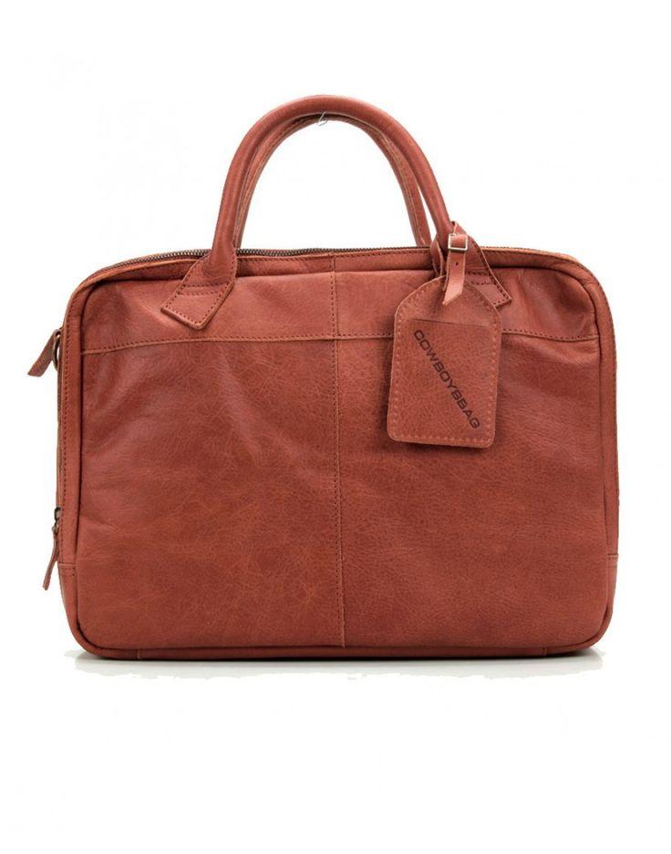 #fashion #menswear #bag #cuir #sac #leather #computeur #camel