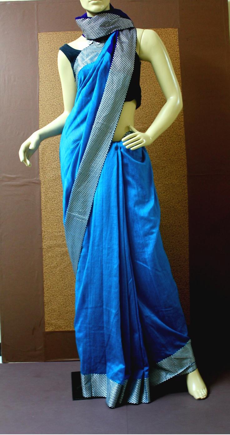 Cotton silk #saree