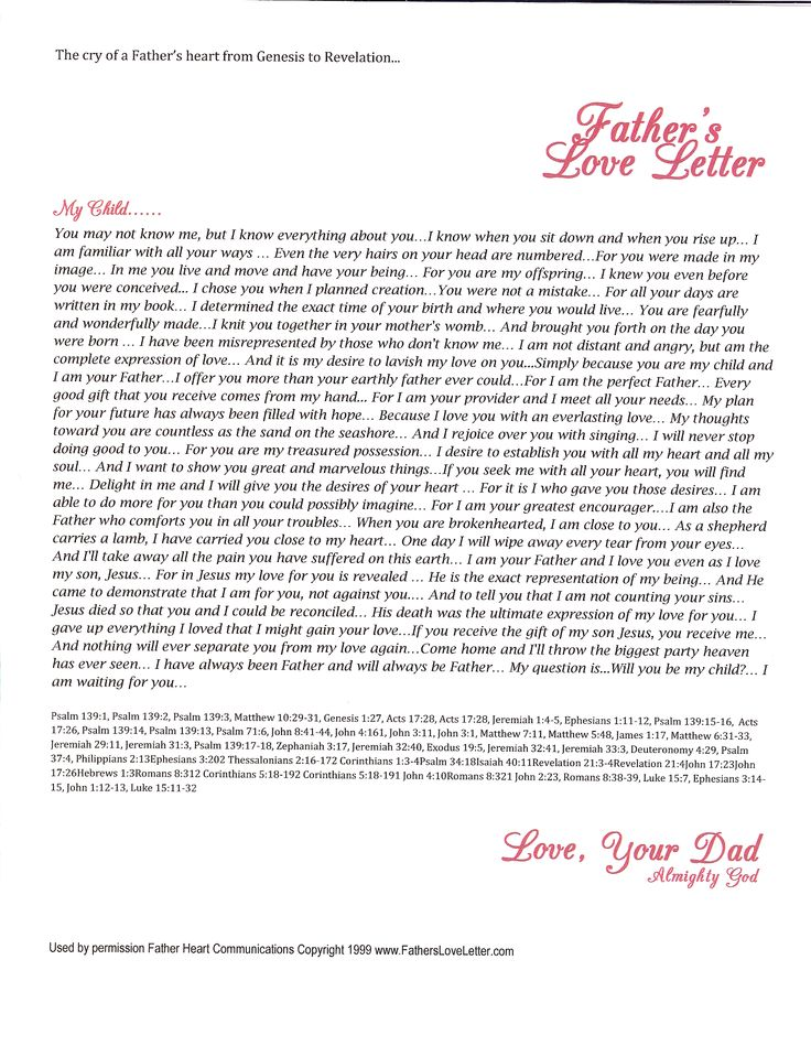 Best  FatherS Love Letter Ideas On   Love My Boys