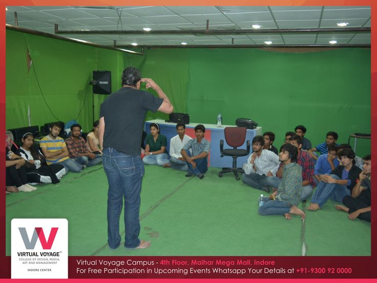 Workshop caters us with knowledge we don't even know we require to have, gives answers to the questions we don't even know exists and rewires our brain in the right direction.  DESIGN IDEATIONS, ACTIVITIES, & FASCINATING MOVIES and lot more creative artwork ideas  Wonderful workshop at Virtual Voyage Premises was exclusively conducted by NID Alumnus, Mr.Sambit Pradhan sir for Fashion, Interior, Design, Media & Performing Arts students!