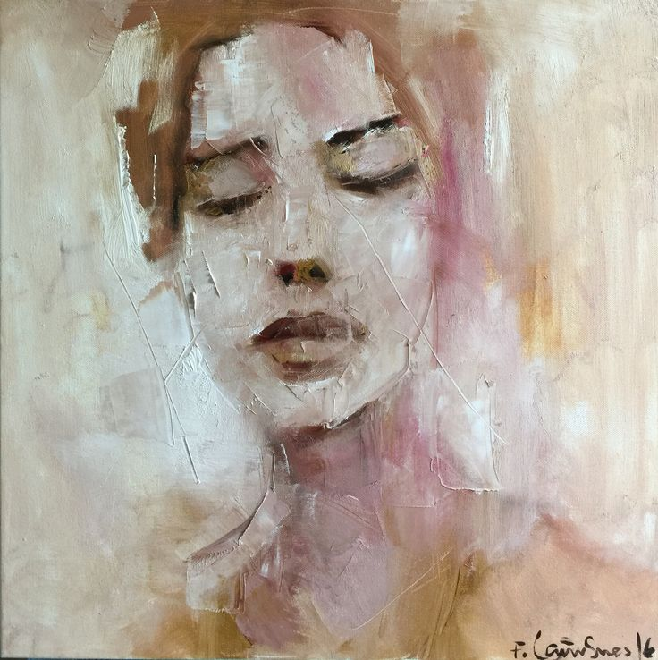 Painted by Frode Lauvsnes. #art #figurative #portrait #figure