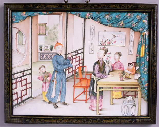 Fitting the standards of the time, the Qing dynasty's society was very patriarchal, with men seen as superior.