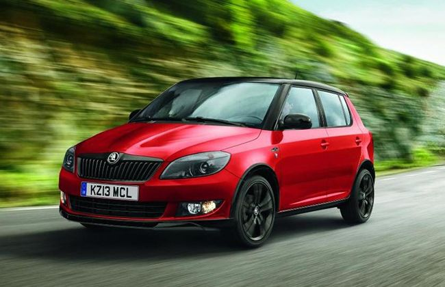 Skoda has now announced details of Fabia Monte Carlo Tech limited edition version, which now has enhanced specification over the standard model. Limited to 1,000 cars, the newcomer benefits from a state-of-the-art Amundsen satellite navigation system and Bluetooth connectivity at no extra cost to the customer. #skodacars #skodafabia