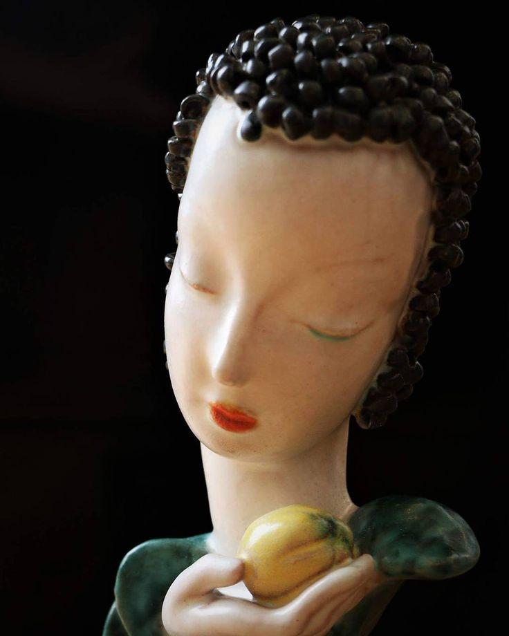 Paris Porcelain Art Nouveau Period Lamp Chinese Taste: 25+ Best Ideas About Goldscheider On Pinterest