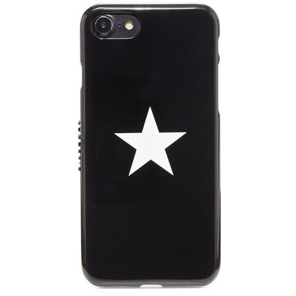 Givenchy White Star iPhone 7 Case ($140) ❤ liked on Polyvore featuring men's fashion, men's accessories, men's tech accessories and mens leather accessories