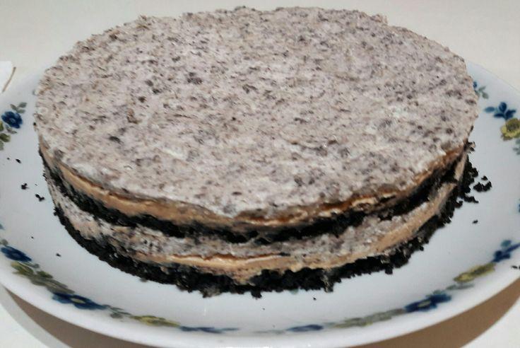 #torta oreo #crema #mendicrim #dulcede leche #bomba