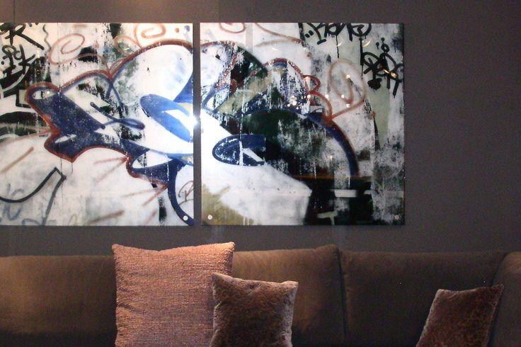 Création de tableaux sur mesure. Impression sur plexi. Design mural, Karine Montreuil, Atelier Kaali. http://design-mural.com/