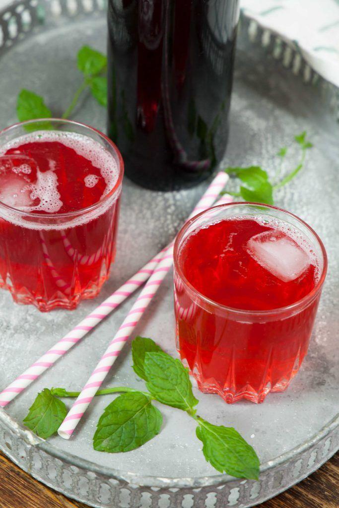 recept röd vinbärssaft