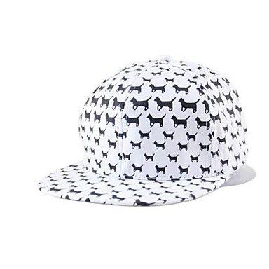 unisex nieuwe mode cartoon hond hip-hop hat – EUR € 5.59