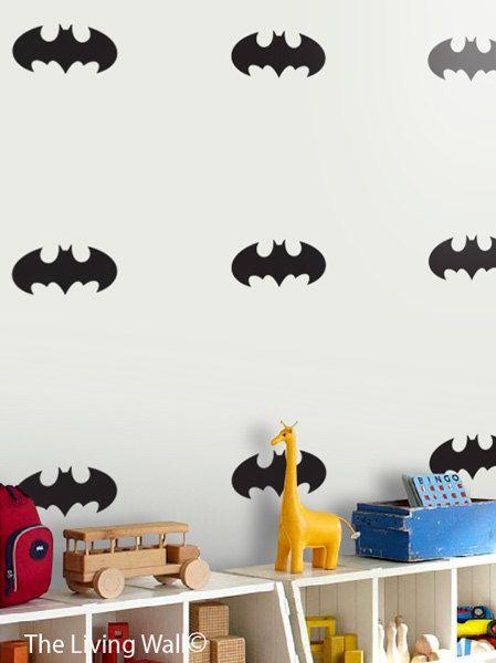 Held Batman Wall Decal kwekerij Decor verwisselbare door LivingWall