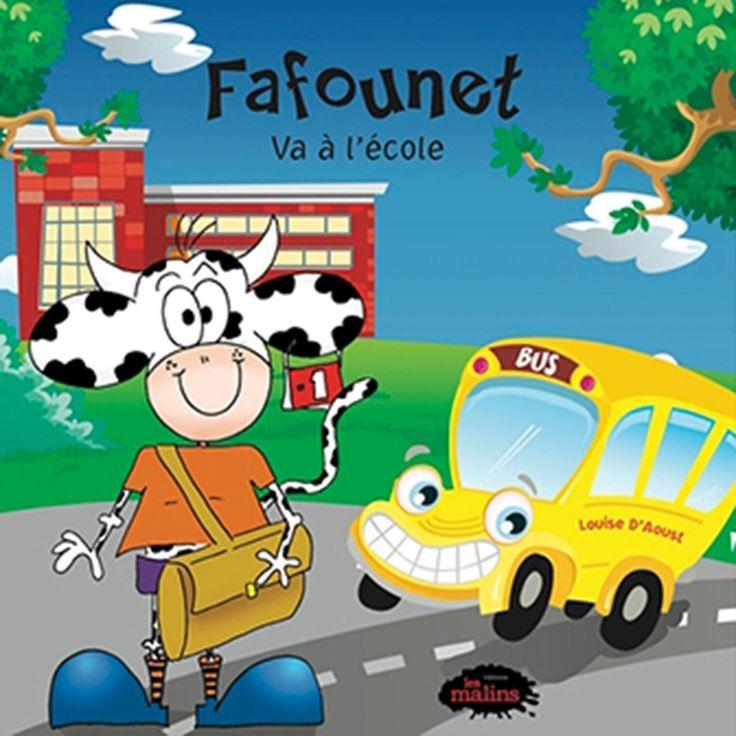 Fafounet va à l'école—C'est la rentrée et Fafounet décide d'emmener son amie Capucine, la petite abeille. Celle-ci lui sera d'un précieux secours pour livrer son message d'amour au pupitre d'une camarade de classe. Une histoire originale sur le thème de la rentrée. De 3 à 7 ans. Fafounet va à l'école, de Louise d'Aoust, Les Malins, 2010, 28 p. 9,95$. À lire aussi: Contes classiques: 6 collections à découvrir