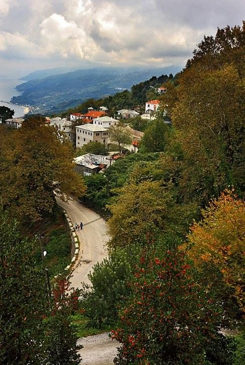 ~Pouri village ~ Zagora, Pelion Mountains~