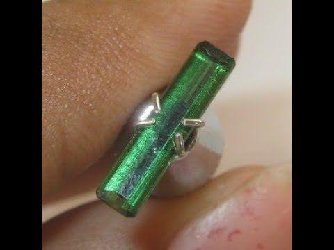 Permata Tourmaline Hijau Neon Green 0.80 carat