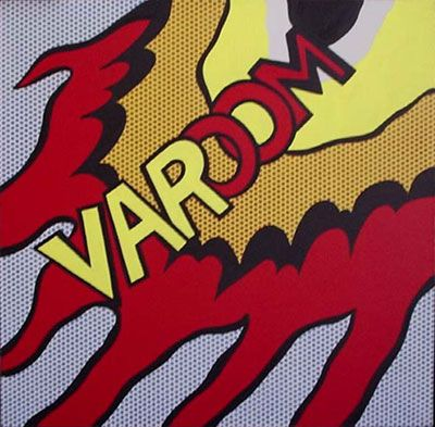 Varoom - Roy Lichtenstein | CartoonCorn | Pinterest
