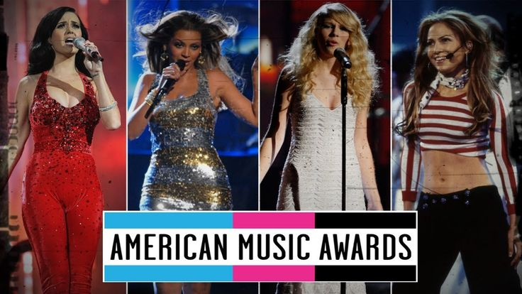 awesome Famous Singers - First AMAs Performance