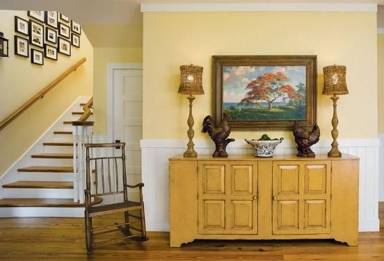 Benjamin Moore Hawthorne Yellow House And Home Paint