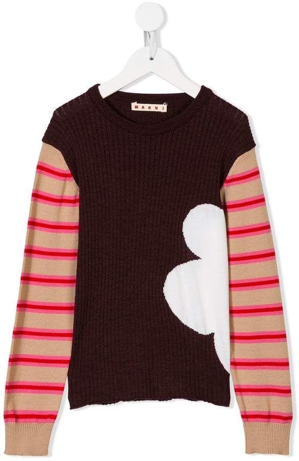 b675c4bcc cloud patch jumper #jumper#Marni#Kids | Children Clothes Store in 2019 |  Marni, Men sweater, Kids outfits
