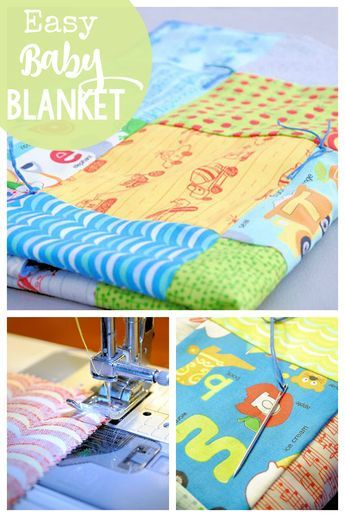 Easy Baby Blanket Patterns to Sew | Keeping my hands busy ...