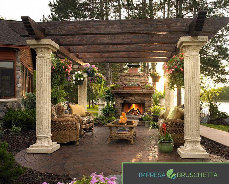 Un pergolato che cambia totalmente l'estetica del giardino… Ogni giardino ha delle grandi potenzialità!!! 💪💪  Se vuoi conoscere tutti i segreti di una casa sostenibile seguici sul nostro blog  www.impresabruschetta.it