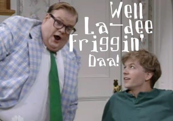 Chris Farley & David Spade