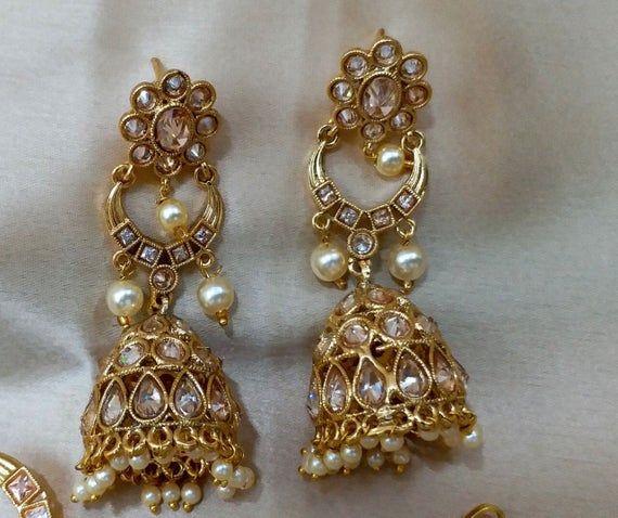 BOLLYWOOD BRIDAL - Indian Designer Jewelry Set