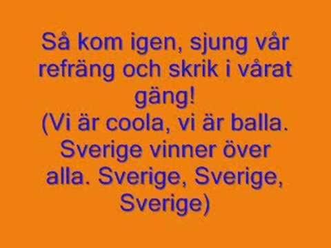 Mojje - Vårt svenska vrål!