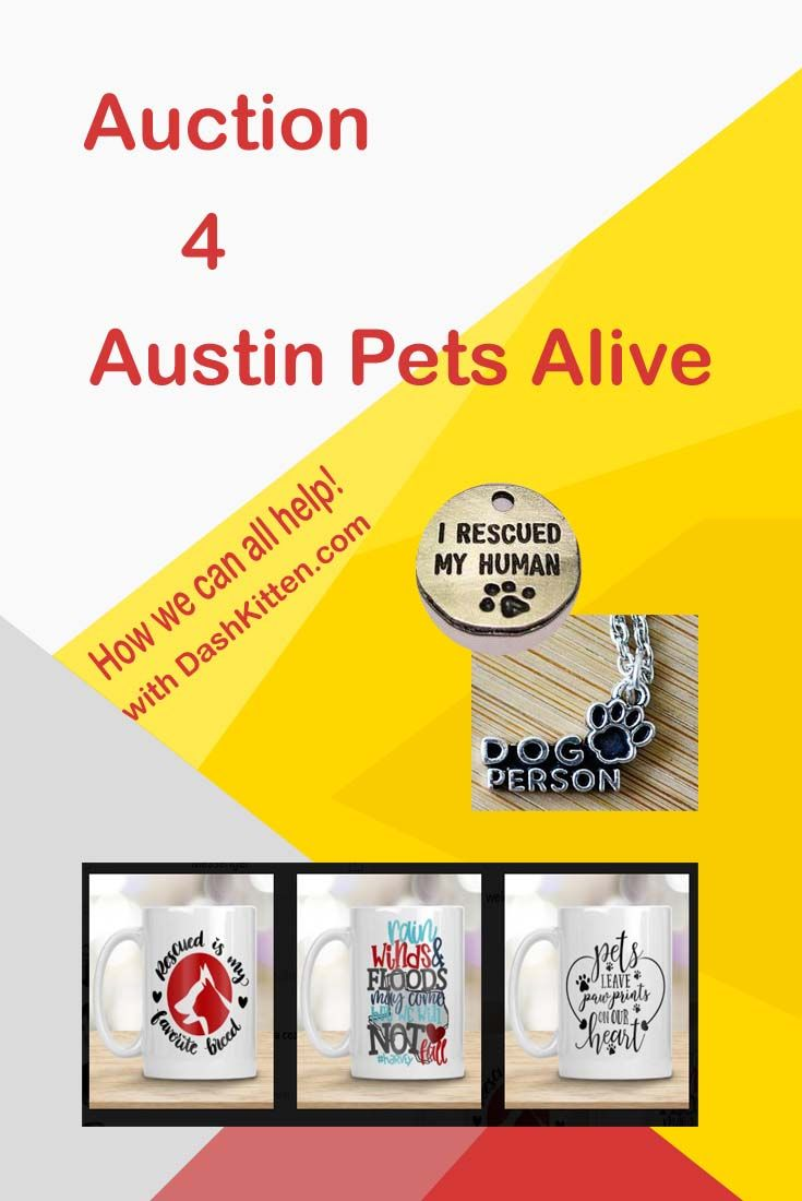 Helping the animals saved by Austin Pets Alive one auction item at a time. Join us for fun and lots of goodies!