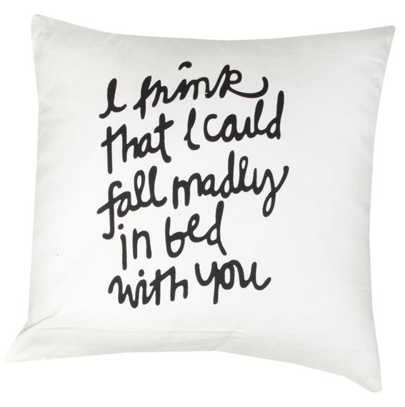 Quote cushion, available in Browsers Furniture Co. Limerick, Ireland