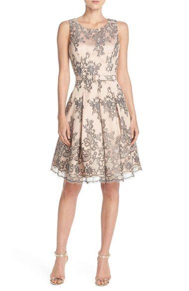Shopping ideas for semi-formal wedding guest dresses.