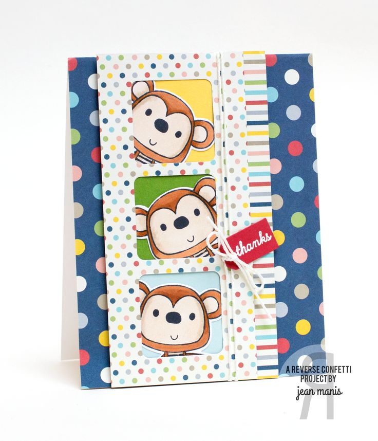 26 best Monkey Business Stamp Set images on Pinterest   Monkey ...