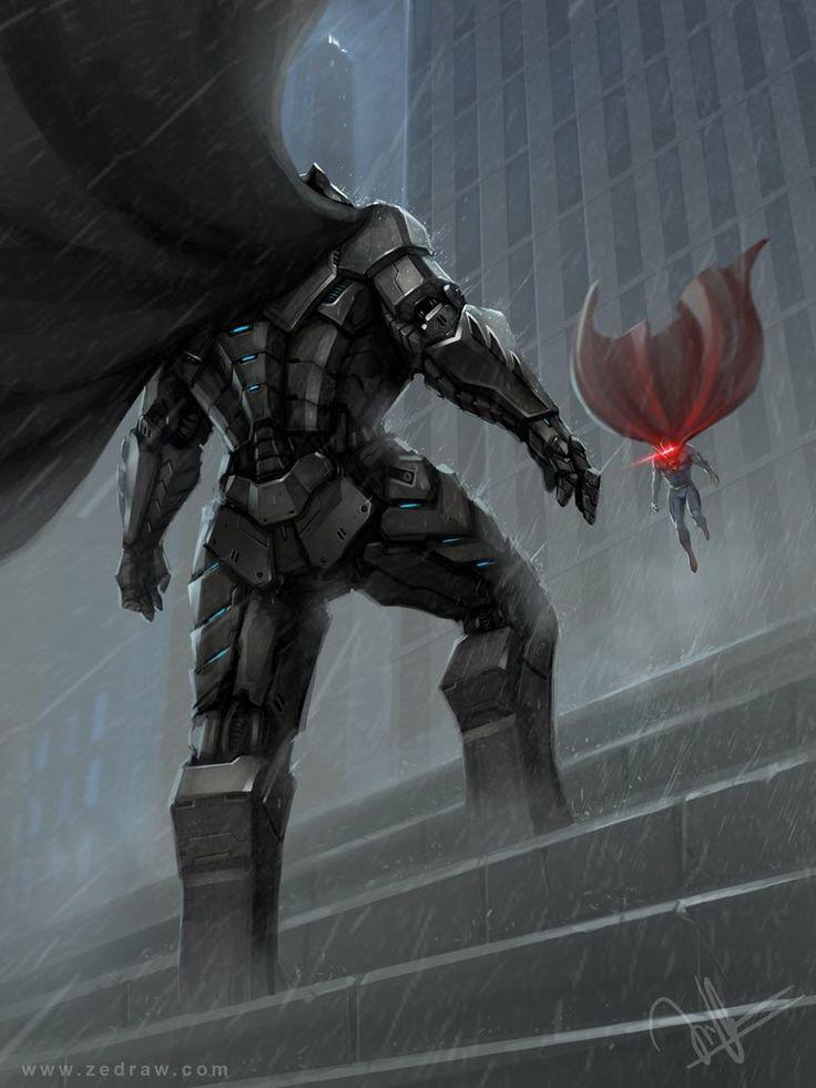 Batman vs Superman by hoasind