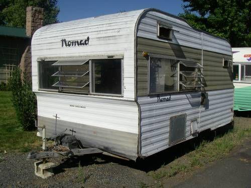 1966 nomad vintage 1964 nomad travel trailer camper pinterest. Black Bedroom Furniture Sets. Home Design Ideas