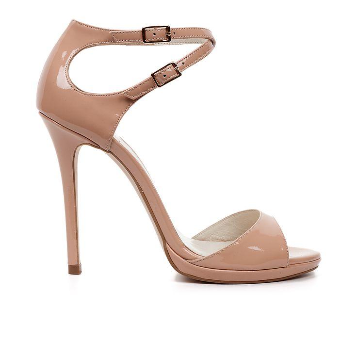 Code: 1008B08 Heel height: 10cm www.mourtzi.com #sandals #nude