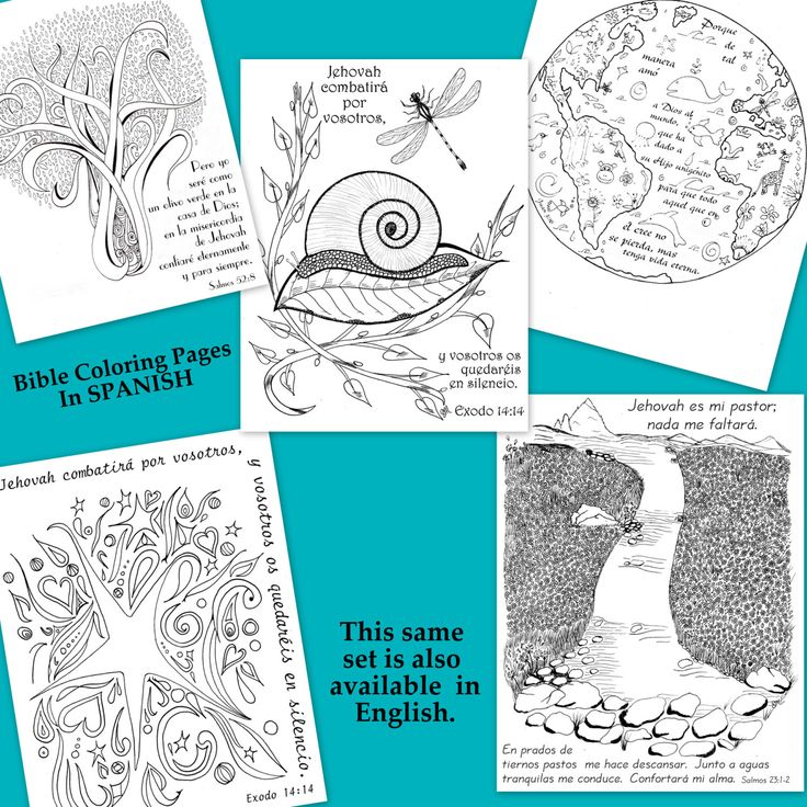 bible journaling coloring pages olive tree earth snail still waters stars pages include in 20 page bible coloring pack