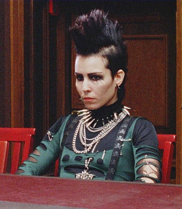 Lisbeth Salander's courtroom apparel