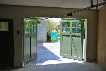 Out-Swing Carriage Garage Doors for a traditional garage  #Barn Doors