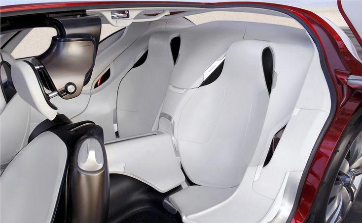 Citroen C Metisse Concept interior