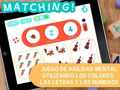 MATCHING, el primer brain training. App's per a nens. #sortirambnens