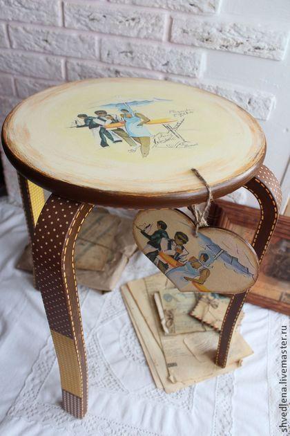 """Мебель ручной работы. Ярмарка Мастеров - ручная работа Кофейный столик """"Кафешка"""". Handmade."""