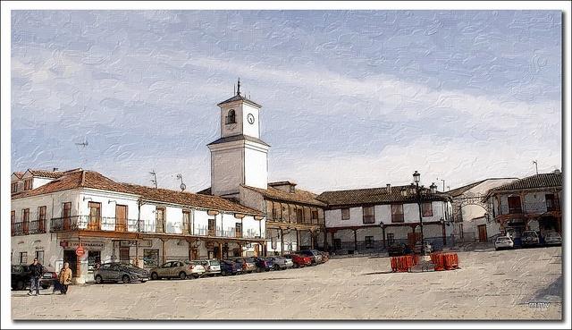Torre del Reloj. Plaza de la Constitución.