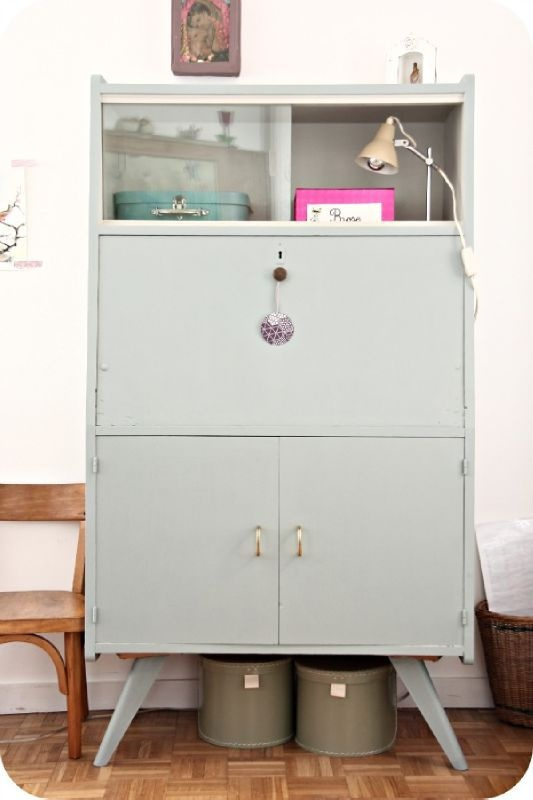397 best Bois renov images on Pinterest Old furniture, Restoring - Repeindre Un Meuble En Chene