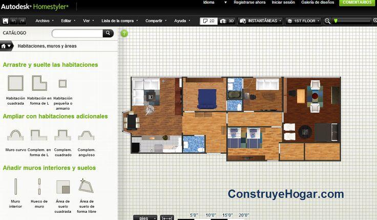 Aplicaciones Online Para Hacer Planos De Casas Gratis | Construye Hogar