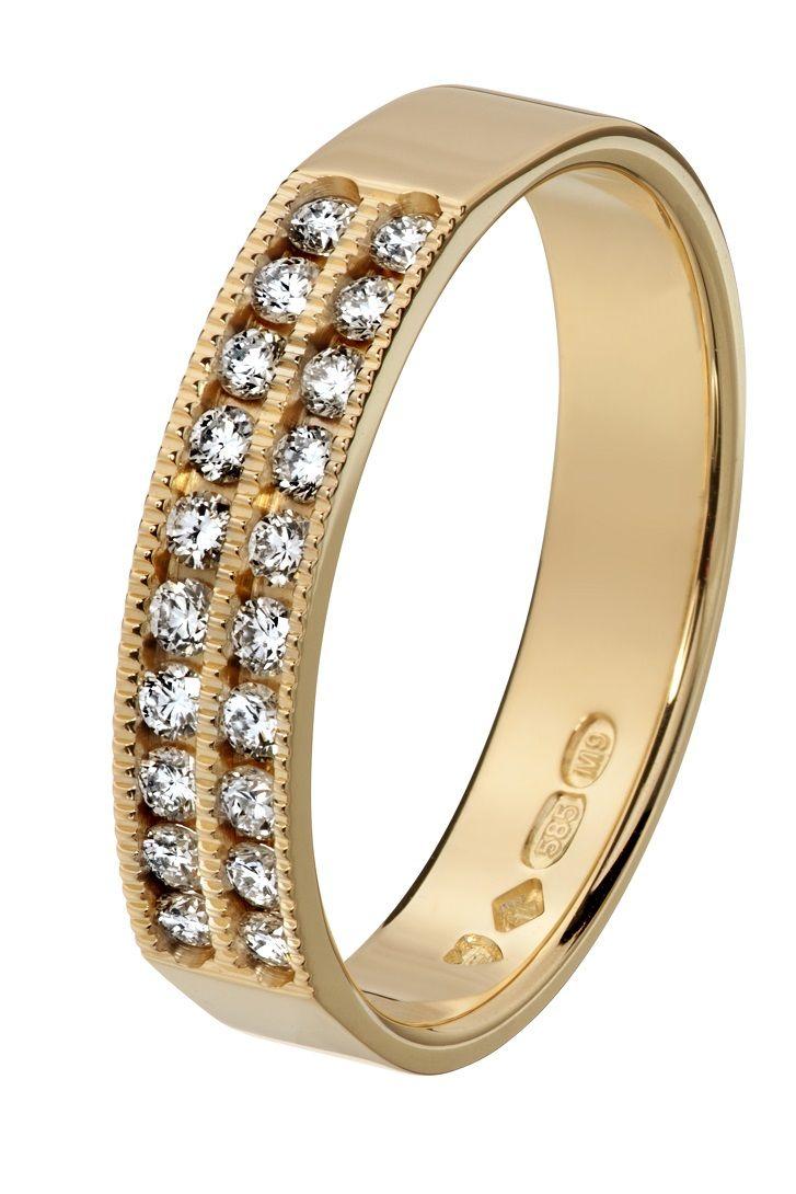 Oy Tillander Ab Red Label, diamond ring www.tillander.fi/ #tillander #diamond #ring #gold #wedding #engagement